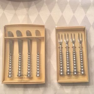 Canapé knives and appetizer forks
